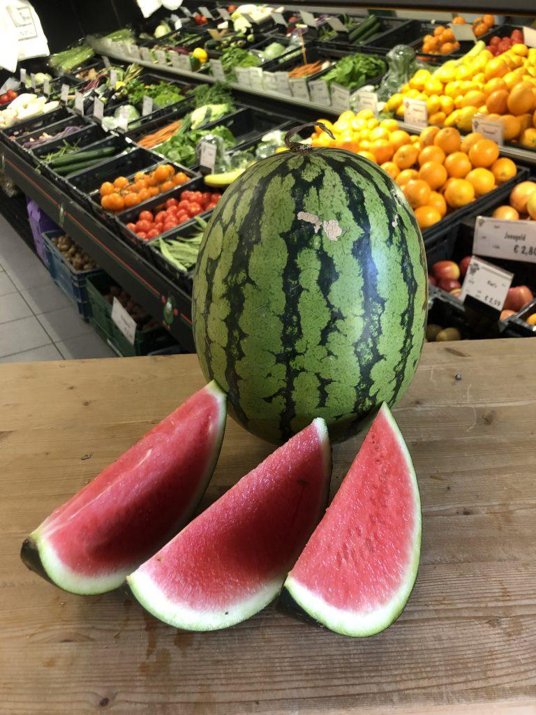 watermeloen aanbieding